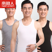 Nanjiren in the elderly male elderly old sweater vest cotton loose cotton shirt suction dad summer