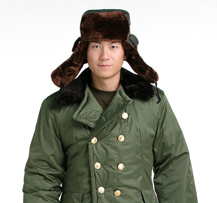 Bald strong originals multifunctional Lei Feng hat cap warm breathable cap new wind northeast big ears