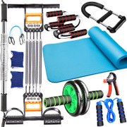 Male sports fitness equipment set household multifunctional chest muscle training exercise arm pull rod arm apparatus