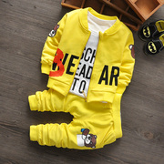 Men's spring and autumn three suit for infant children 1-2-3 years old baby spring leisure dress coat