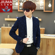 Men's casual suit jacket Slim small suit Korean youth handsome clothes students winter coat tide