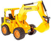 Children's car control car remote control engineering cable crane electric forklift excavator excavator digging machine.