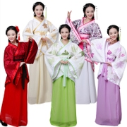 Female costume costume Hanfu formal double winding song Ju costumes portrait fairy skirt rite costume clothing
