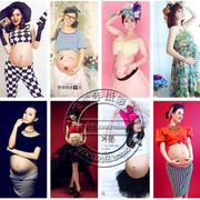 The new version of studio maternity 2016 pregnant women fashion portrait photography photo pregnant Mommy
