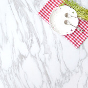 White marble pattern background plate food food cosmetics photography props background plate background cloth