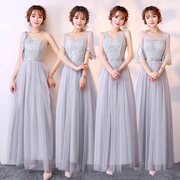 2017 new Korean bridesmaid dresses long Bridesmaid Dress sisters thin dress wedding dress skirt