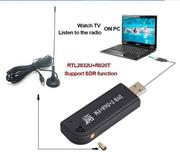 R820T DVB - T + DAB + + RTL2832U software radio FM + SDR USB DONGLE promotional bag mail