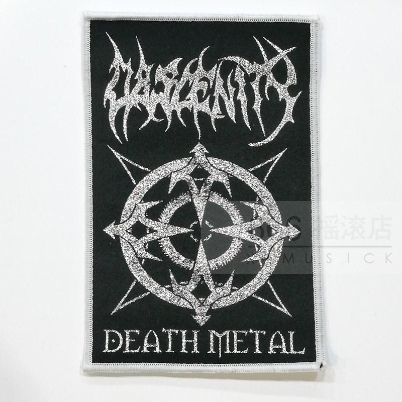 OBSCENITY Germany brutal death metal band official import cloth Patch