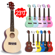 A 21 inch 23 inch ukulele beginner students ukulele string four color small guitar