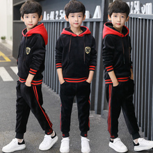 Children's clothing boy spring 2018 new children's spring and autumn sports suit big boy spring fashion Korean version 5 tide clothing 7