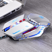 Wrangler wired mouse mechanical game Jedi survival chicken gaming notebook mute macro programming cf