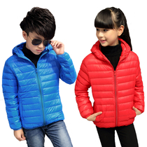 2016 in new childrens lightweight down jacket boys girls boys hooded baby boy and girl childrens jackets