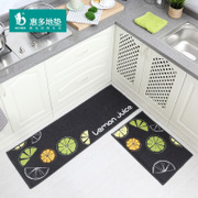 Huiduo kitchen door home door mat mat mat water bath mat mat bedroom suite
