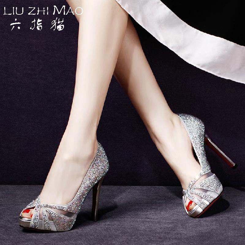 Купить из Китая Туфли с открытым носом через интернет магазин internetvitrina.ru - посредник таобао на русском языке