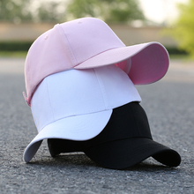 Hat male cap baseball cap casual fashion black white sun hat female hip hop wild Korean summer hipster