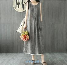 Fashion plus-size summer women dress loose ladies dresses