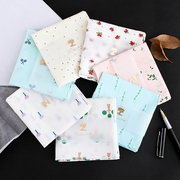 Colorful cotton towel handkerchief slightly lady woman antique cotton handkerchief handkerchief gift Ms. Ms.