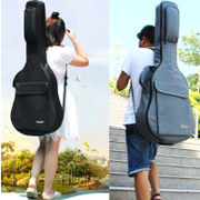 Guitar bag 41 inch thick shoulders ballad guitar bag 39/40 inch Backpack Bag waterproof piano student personality