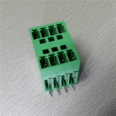 间距3.81MM双层插拔式PCB接线端子 2*4PIN双层插拔式PCB接线端子