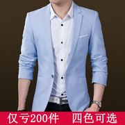 Men's casual suit young Korean version of the spring and autumn season thin small suit fashion students single Western jacket