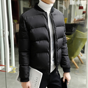 Male Korean version of the short winter men's slim coat collar padded cotton clothing young handsome Quilted Jacket Men's coat