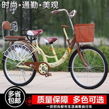 Baby car parent-child bicycle can be sitting and lying portable with children tricycle shuttle baby single shock