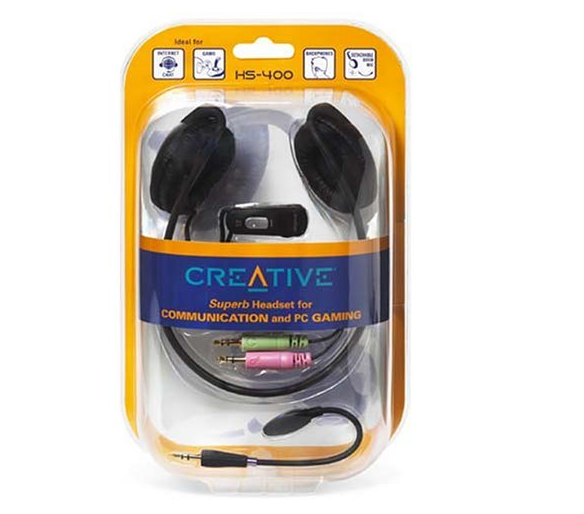 Creative innovation game hangs after HS-400 headphones headset headsets headset 3.5mm headset