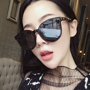 2017 new Korean V brand sunglasses sunglasses GM box trend for men and women face anti UV Sunglasses