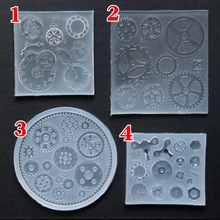D54 mechanical gear watch parts mirror silicone mold Epoxy mobile phone shell DIY crystal glue UV glue