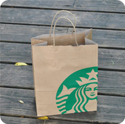 Starbucks took a small bag of contact customer service to change the price of shoot not buy cups send card to buy them off