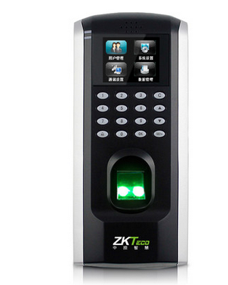 In the control of F7Plus display F7 network access control time and attendance machine fingerprint access control machine