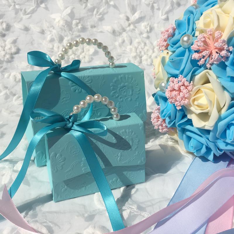 喜糖盒 创意欧式小奢华婚礼盒子纸盒 婚庆手提礼盒结婚糖盒批发