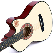 Casamic 38-inch Guitar Acoustic Guitar Acoustic Guitar for beginners Getting Started Guitar Student Male Female Musical Instruments