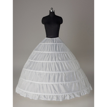 Wedding dress oversize six steel skirt support wedding dress Peng skirt show Dress Petticoat 6 circles without gauze increase direct sales of supporting skirt