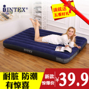 INTEX inflatable inflatable mattress pad double bed sheets popular lunch outdoor portable bed air cushion bed at