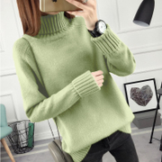 New winter loose turtleneck and a female Korean long sleeved all-match bottoming sweaters thickened