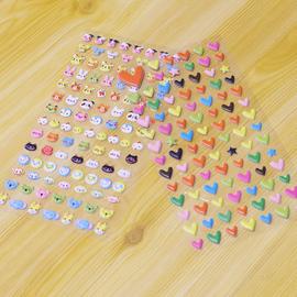某年某月 diy相册配件  创意造型心形泡泡贴 卡通动物海绵贴纸