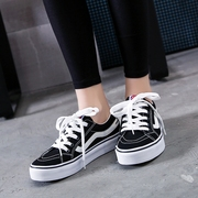 Street canvas shoes female autumn 2017 new students all-match shoes casual shoes white shoes Harajuku Korean tide