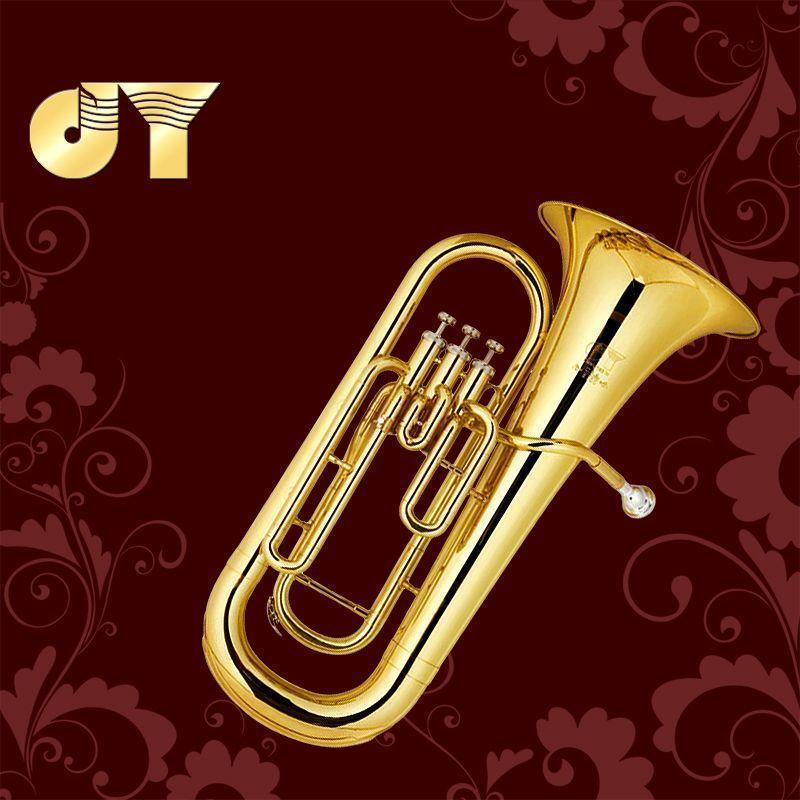 Gold music instrument vertical key, bass number down B, JYEU-E100G lacquer gold manufacturers self security inquiry