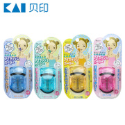 KAI shell India eyelash curl lasting portable Japanese popular local Mini eyelash curler official shipping