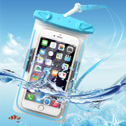 Underwater camera mobile phone waterproof bag iphone7plus touch screen mobile phone universal hot spring swimming diving set package 6S