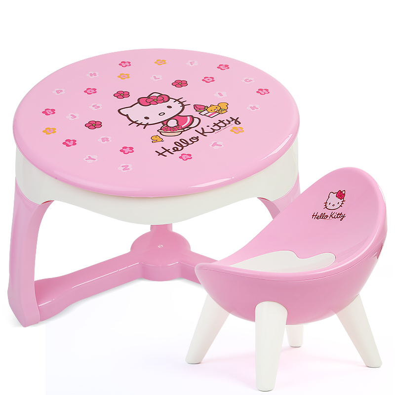 Children's table and chair set, baby toys, hand games table, kindergarten learning writing, small desk, Yi Zimu