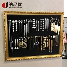 Photo Frames Jewelry Display Accessories Accessories Storage Earrings Earrings Display Board Necklace Hanging Wall Jewelry Display Props