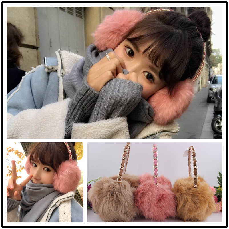 The 2016 explosion of special offer hot hair ear warm earmuffs multicolor multicolor headband 9.9 yuan shipping chain