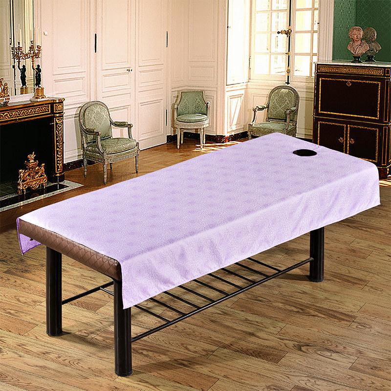 缘自淘加厚防水防油美容床单美容院按摩床专用床单带洞 满3件包邮