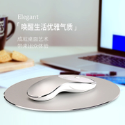 Ice Fox aluminum mouse wireless charging mute boys and girls portable desktop infinite game mouse