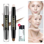 Double light STICK CONCEALER stick gloss waterproof stereo bronzing shadow strengthen silhouette nose shadow V face Brightening Cream