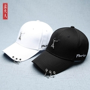Summer hat female Korean baseball cap all-match tide male hip hop shading students leisure tower peaked cap hoop