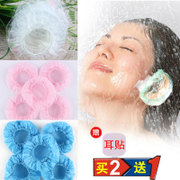 Disposable thick waterproof earmuffs earmuffs earmuffs Hair Coloring beauty shampoo bath pierced ear water proof