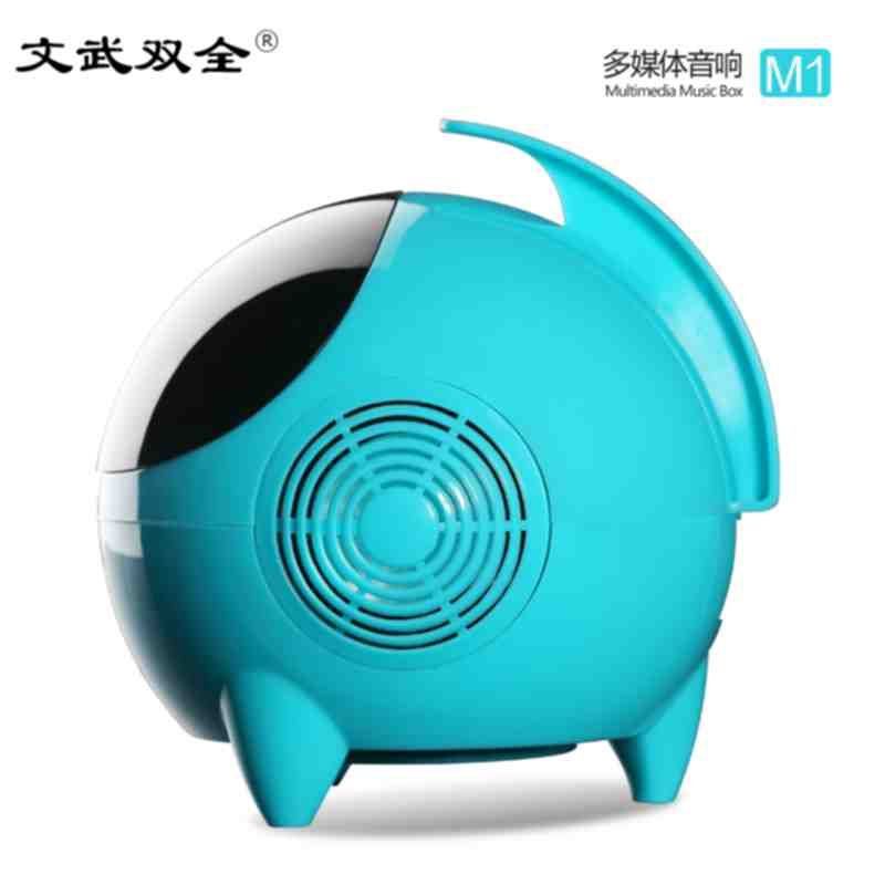 Stereo SUBWOOFER SPEAKER USB notebook computer and desktop space double mini A1 multimedia villain